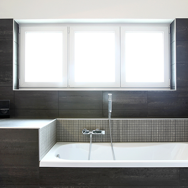 Residential Privacy Window Film for Bathrooms
